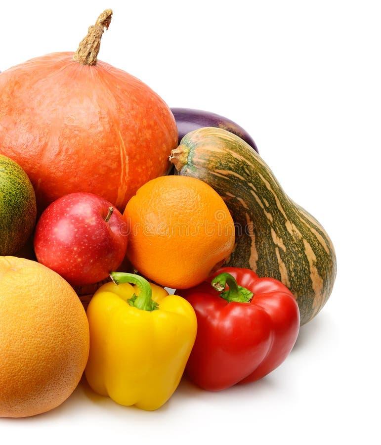 Fruit en Groente royalty-vrije stock afbeeldingen