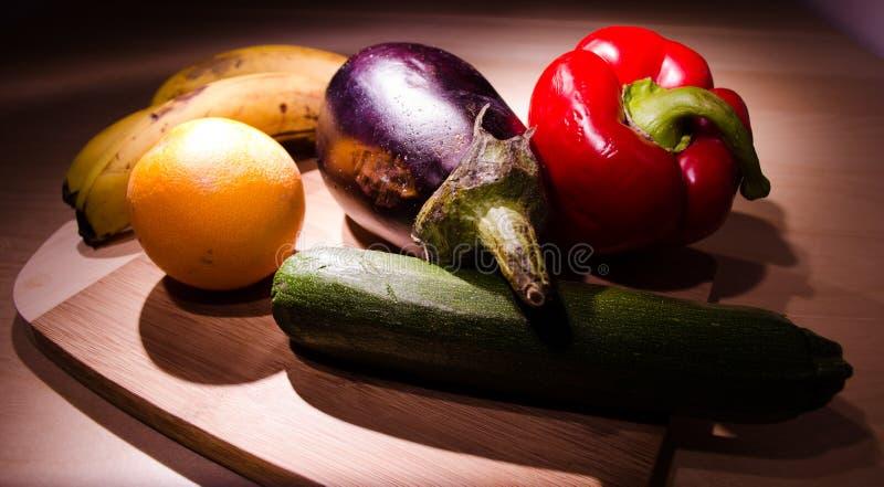 Fruit en groenten royalty-vrije stock afbeeldingen