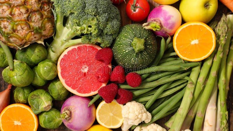 Fruit en plantaardig, royalty-vrije stock fotografie