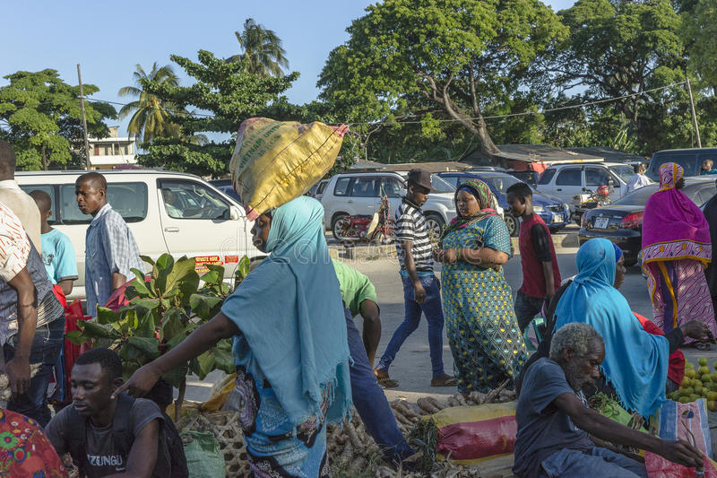Fruit en plantaardige markt stock fotografie