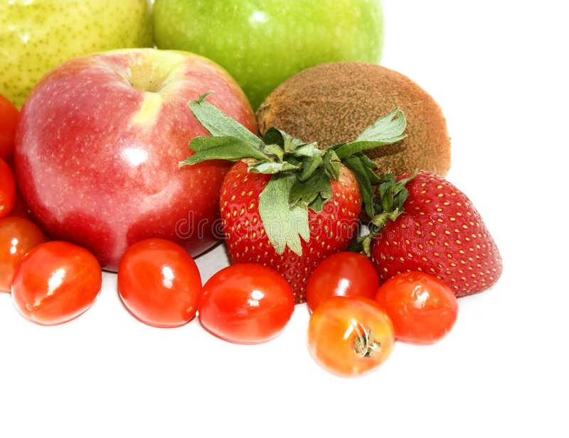Fruit en veg#2 royalty-vrije stock foto