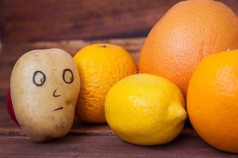 Fruit et cire images stock