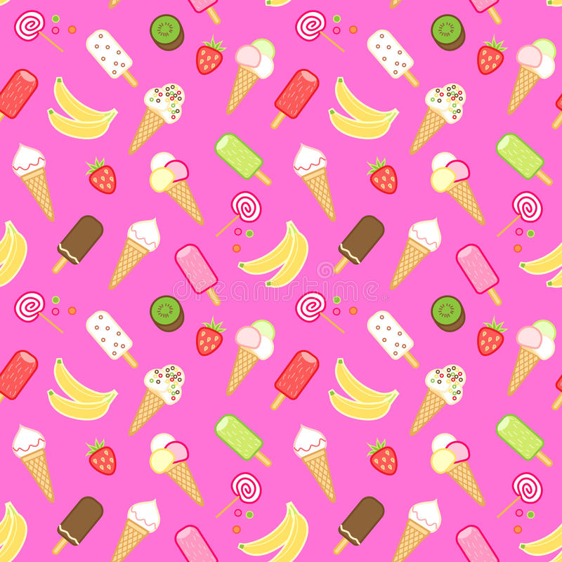 Crème glacée  illustration stock