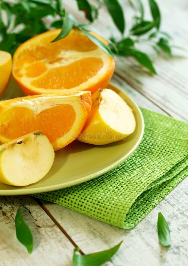fruit frais de plaque image libre de droits