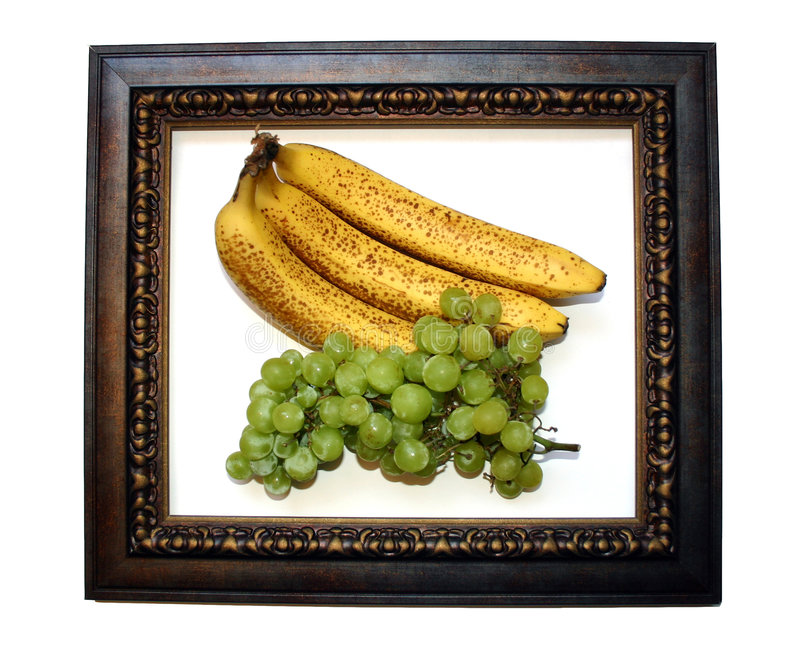 Download Fruit Frame stock image. Image of bananas, green, fruit, bunches - 9157