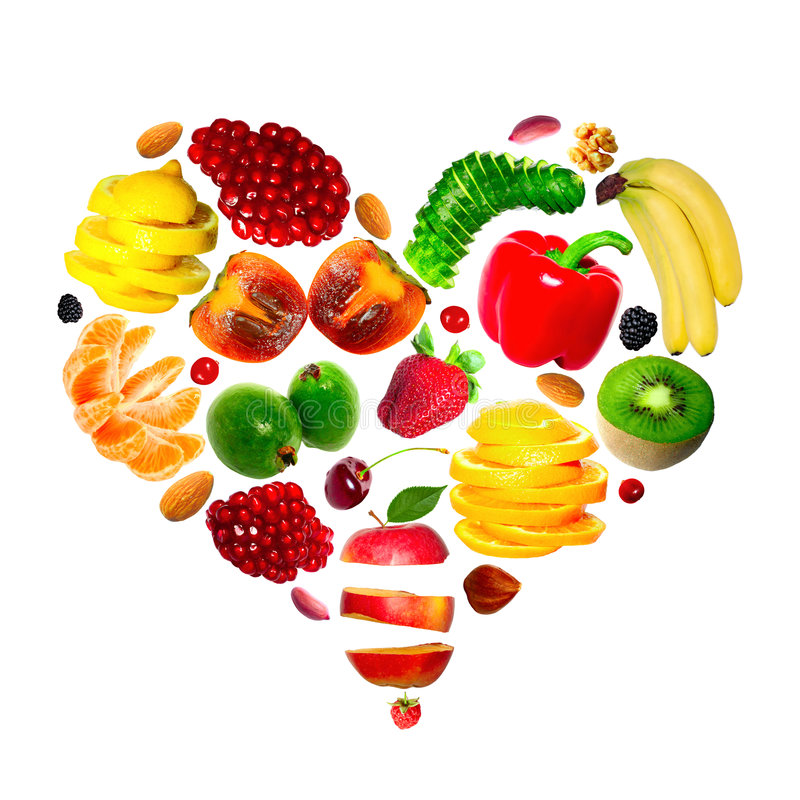 Free Fruit Heart Stock Images - 7257924