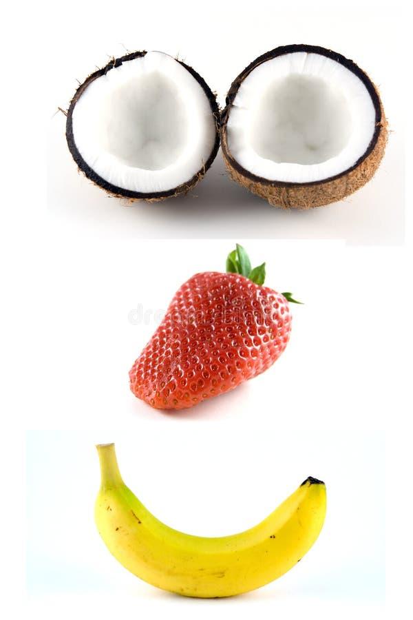 Fruit heureux 1 image libre de droits