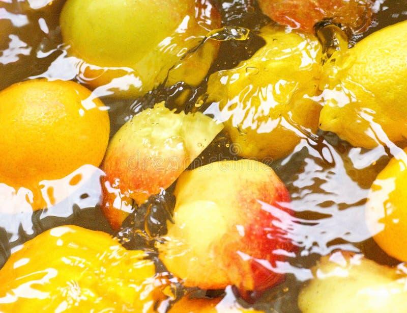 Fruit humide image libre de droits