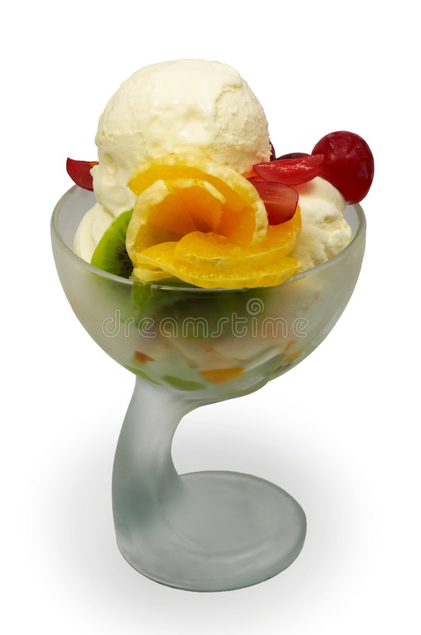 Download Fruit Ice Cream Stock Image - Image: 1407371