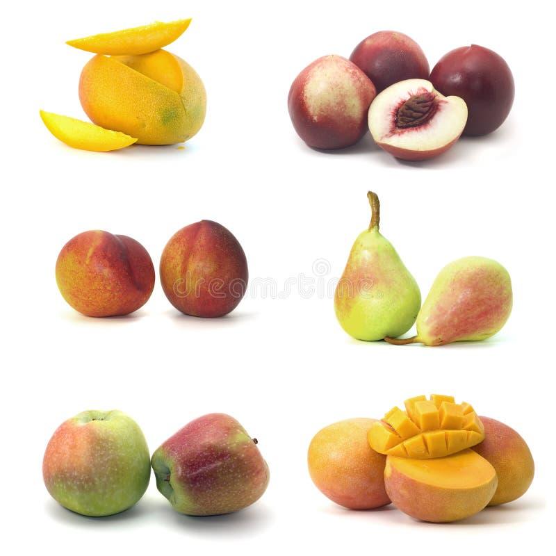 Free Fruit Isolated On White. Stock Images - 6076804