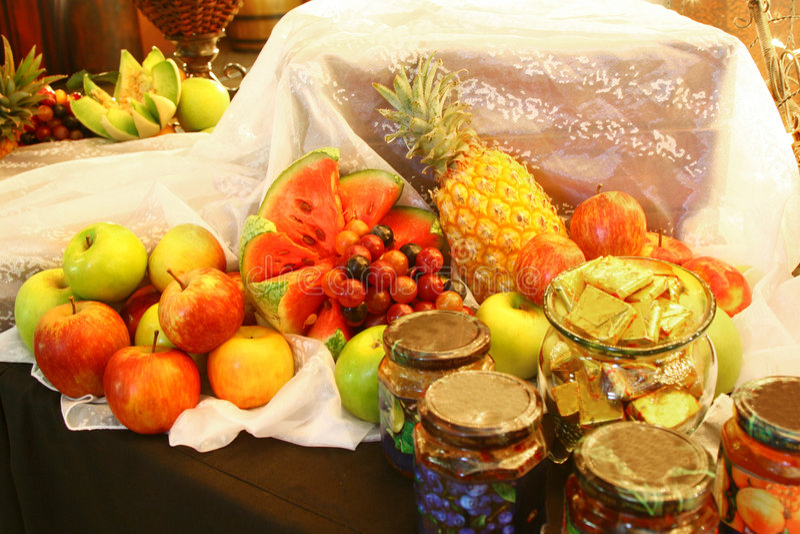 Fruit Jam stock photos