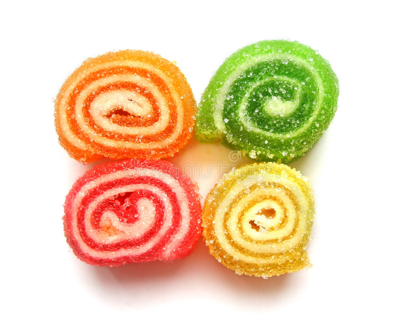 Download Fruit jellies stock photo. Image of dessert, colourful - 2460728