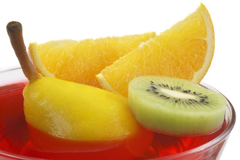 Fruit jelly royalty free stock photos