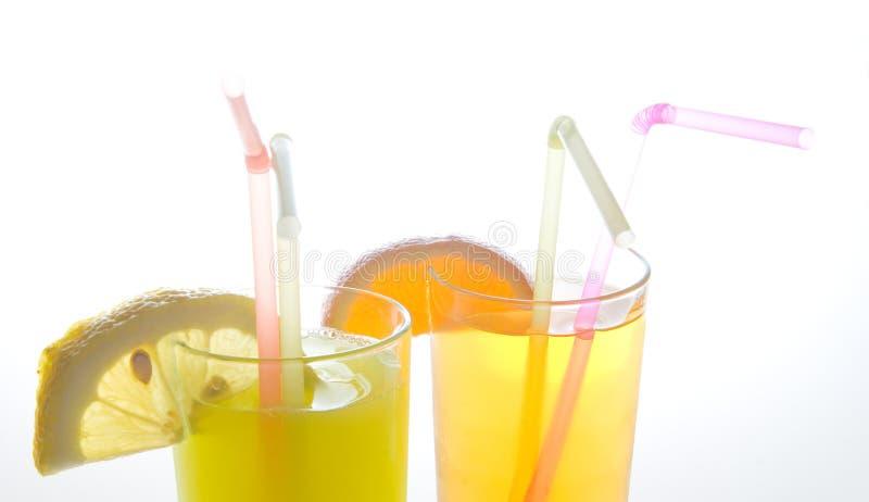 Fruit juice close up royalty free stock photography