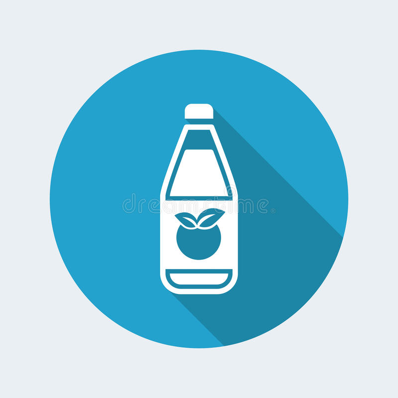 Fruit juice icon vector illustration