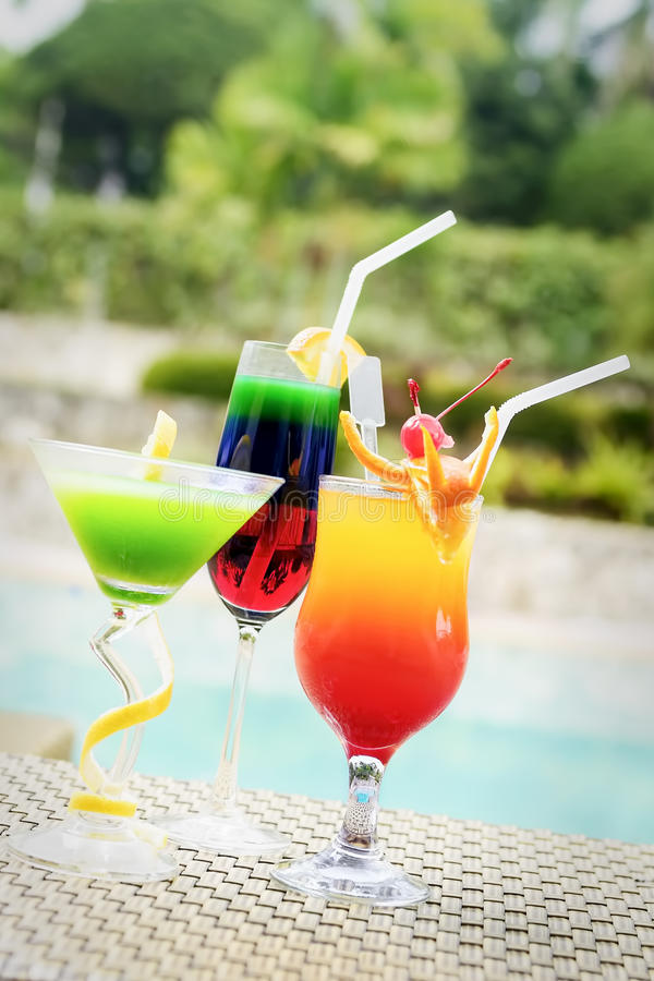 Fruit Juices stock photography