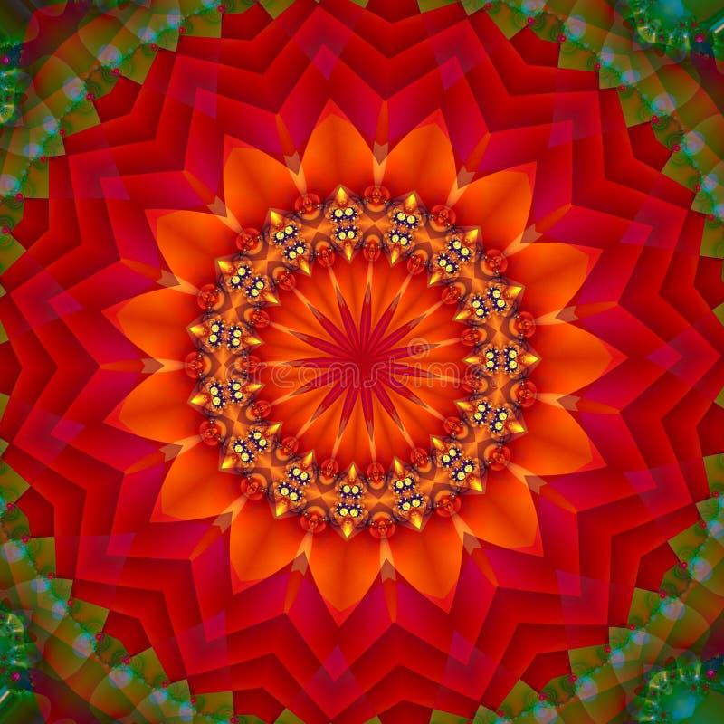 Fruit juteux d'un rouge ardent 2 illustration libre de droits