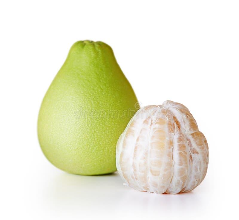 Fruit juteux frais de pamplemousse photographie stock libre de droits