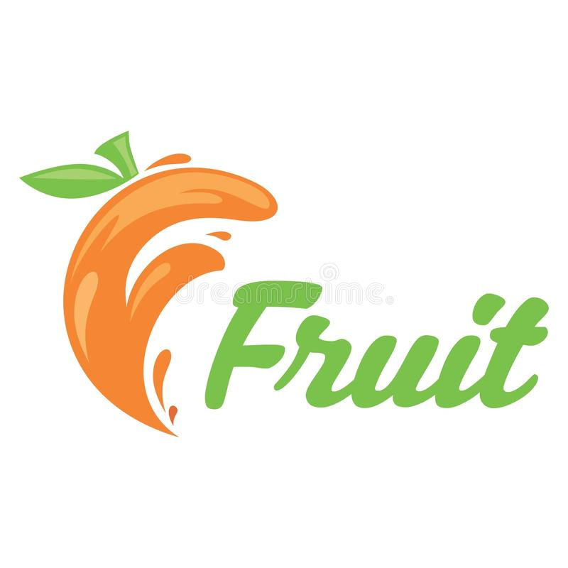 FRUIT letterF royalty free stock image