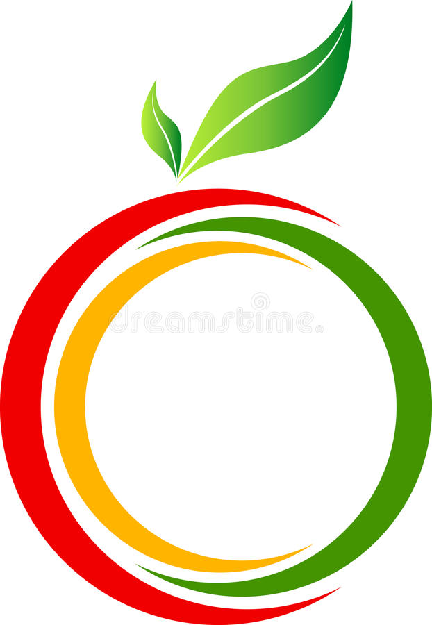 Download Fruit logo stock vector. Illustration of concept, environment - 21373675