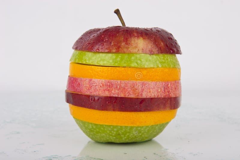 Fruit mélangé juteux frais photographie stock libre de droits