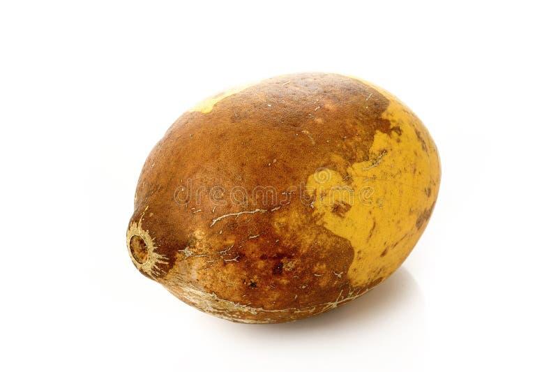 Fruit mûr de bael photographie stock