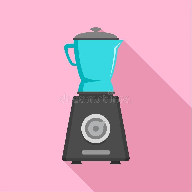 Fruit machine icon, flat style. Fruit machine icon. Flat illustration of fruit machine vector icon for web design stock illustration