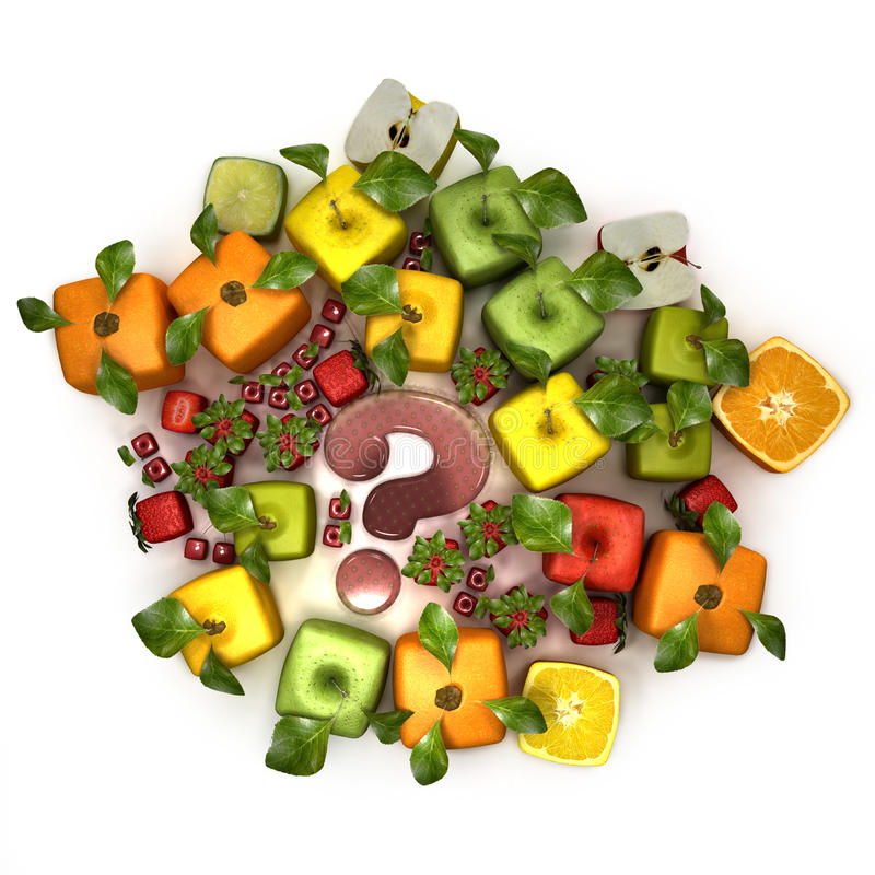 Download Fruit manipulation stock illustration. Image of dubious - 13243556