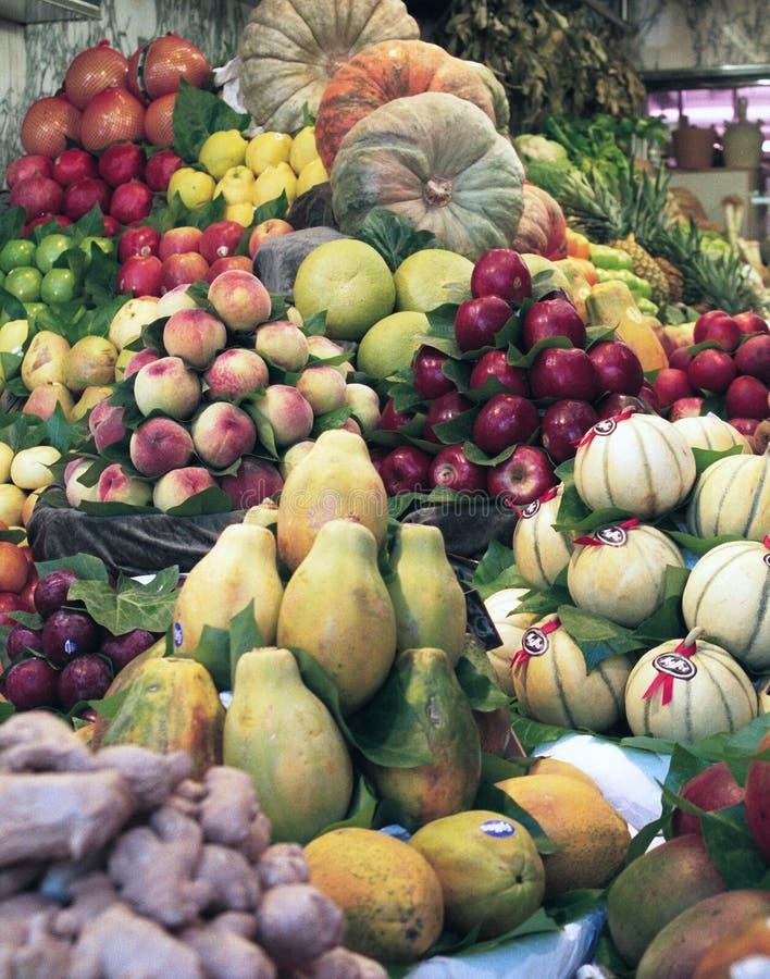 Download Fruit market stock photo. Image of food, bazaar, plenty - 1375094