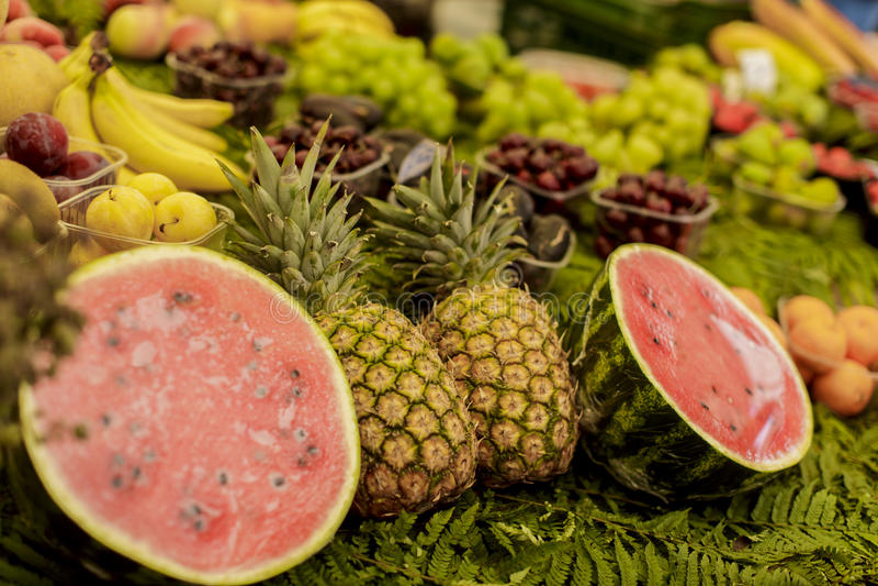 Download Fruit market stock photo. Image of european, fresh, healthy - 33151030