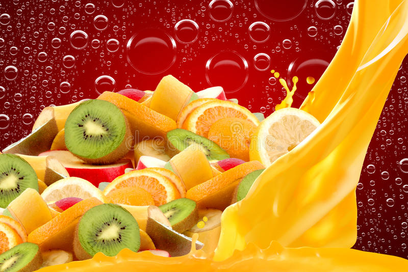 Fruit mix royalty free stock photo