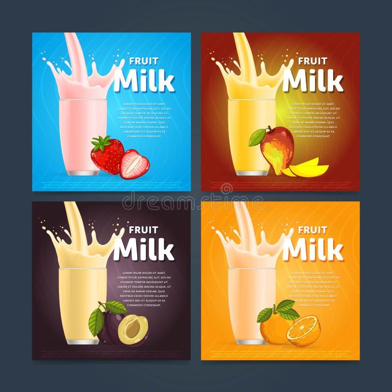 Free Fruit Mix Sweet Milkshake Dessert Cocktail Stock Photo - 75483840