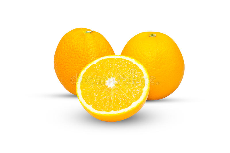 Download Fruit Orange D'isolement Sur Le Blanc Image stock - Image du normal, nature: 87703075