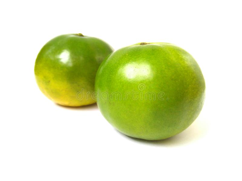 Fruit orange vert doux images stock