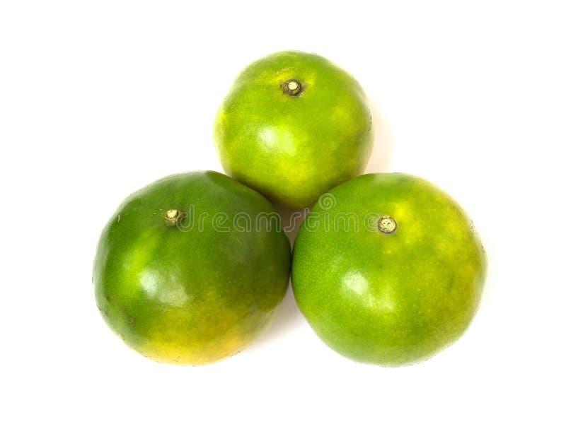 Fruit orange vert doux images libres de droits