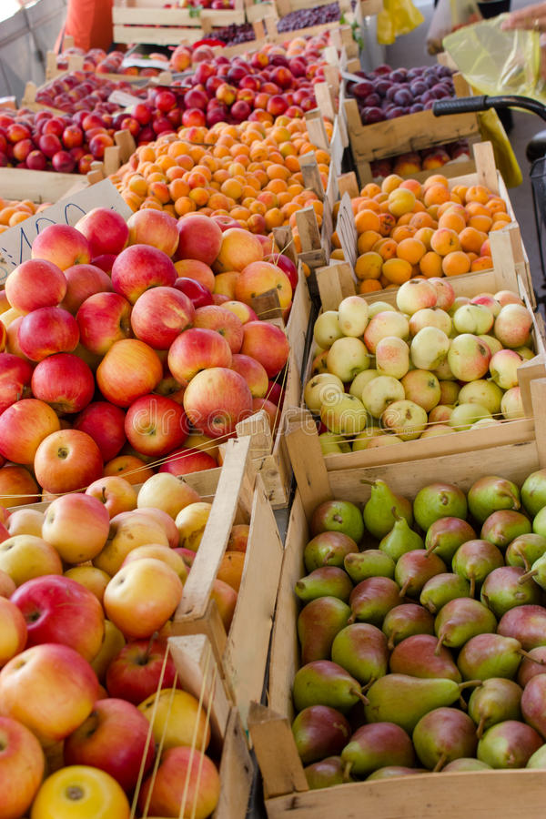 Fruit organique frais de Serbie photo stock