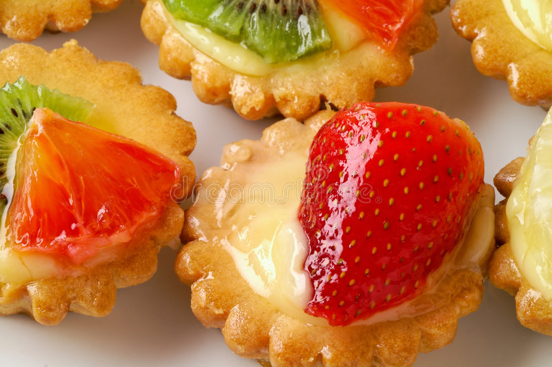 Download Fruit pastry closeup stock photo. Image of isolated, kiwi - 2322734