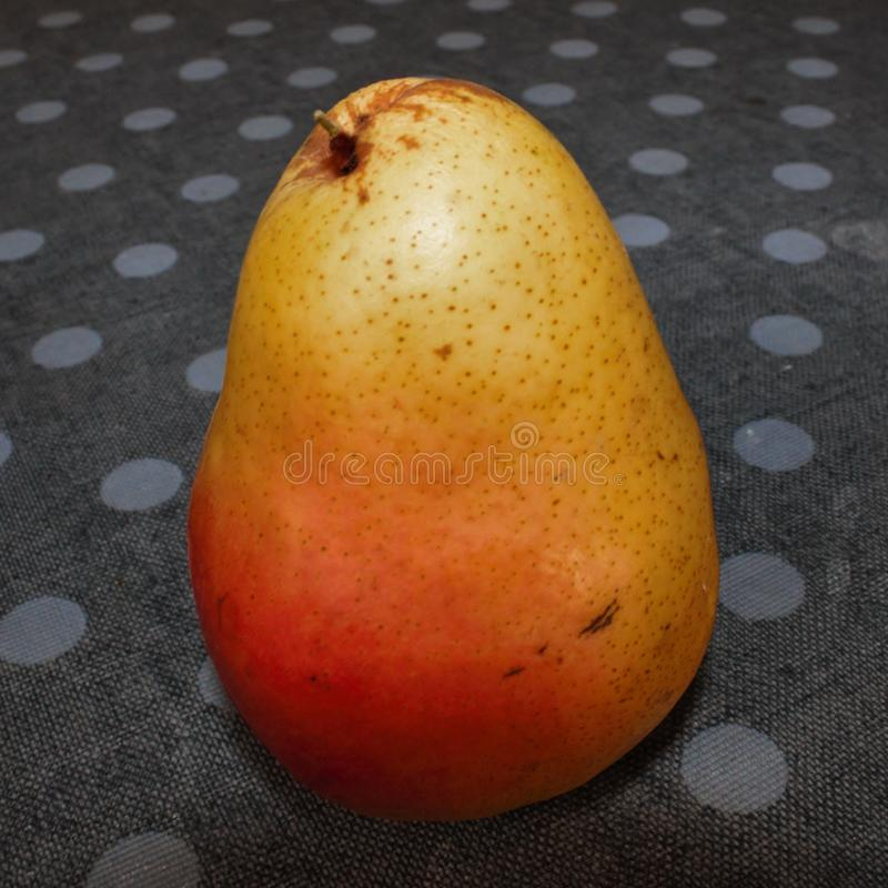 Fruit, photo depicting a pear. Fruit, photo depicting a pear stock photography