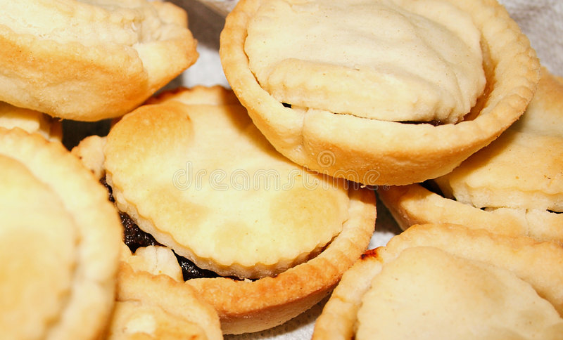 Fruit pies stock images