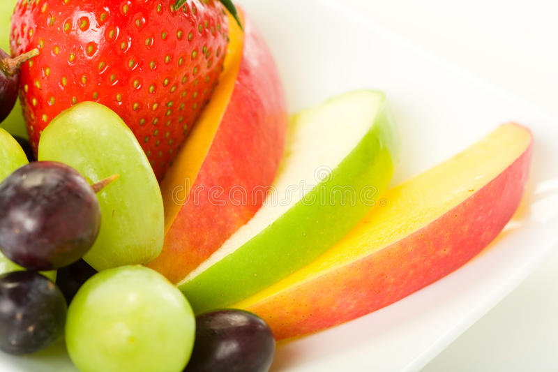 Fruit Plate Royalty Free Stock Photos