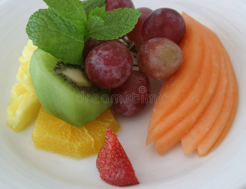 Fruit Plate III stock photos
