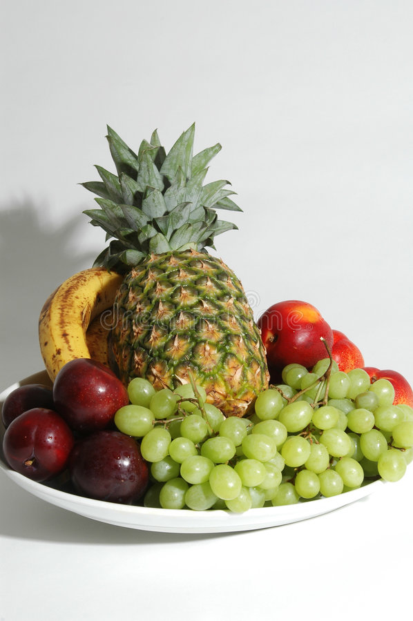 Download Fruit platter stock image. Image of yellow, plum, plums - 153843