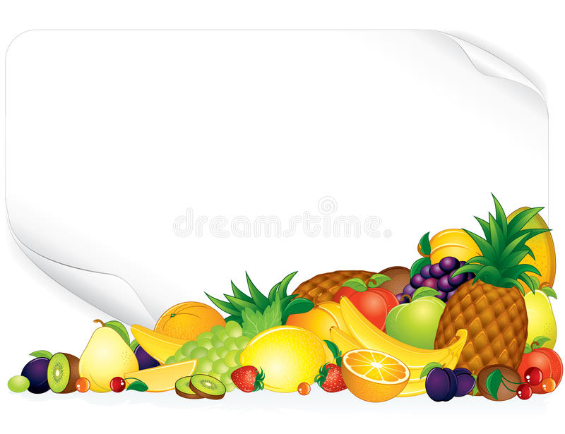 Download Fruit Poster stock vector. Image of fresh, harvesting - 19673641