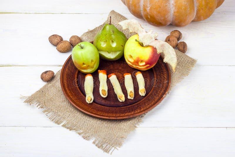Fruit pour Halloween photographie stock libre de droits