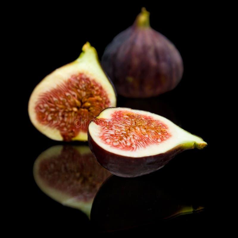 Fruit pourpré mûr de figue photo libre de droits