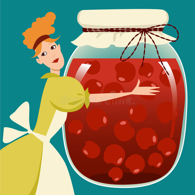 Fruit Preserves Royalty Free Stock Image