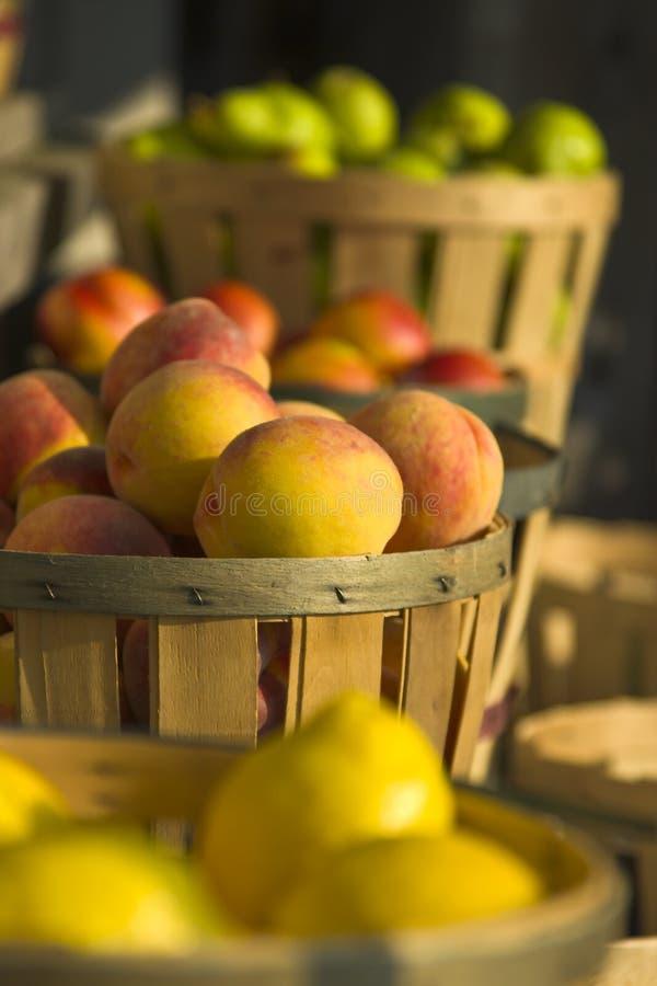 Fruit at Roadside Market stock images