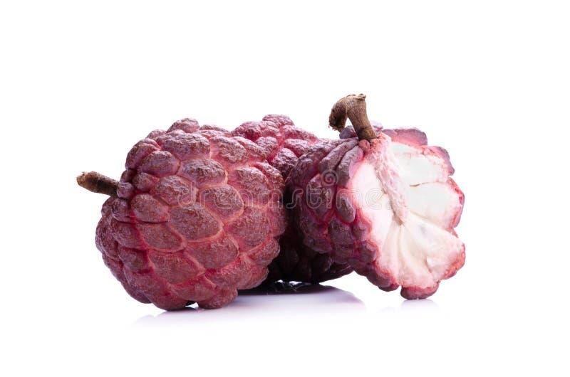 Fruit rouge de Sugar Apple photo stock