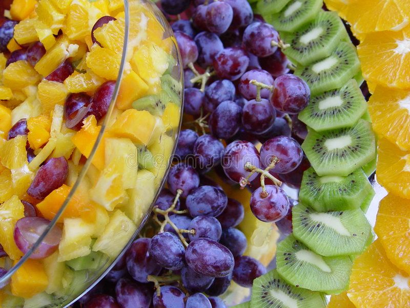 Download Fruit_salad stock image. Image of pineapple, grape, healthy - 179993