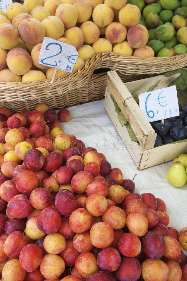 Fruit for sale stock photography